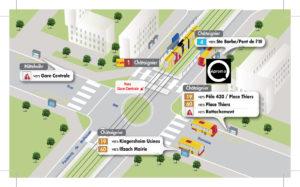 accès et transports en commun pour se rendre chez aproma
